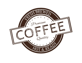 COFFEE LOGO Folheto (US Letter) template