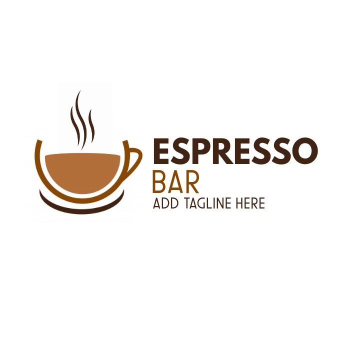 coffee logo template design Logótipo