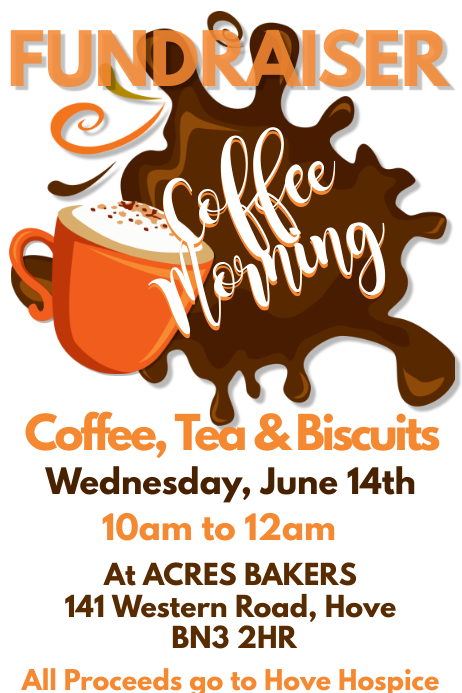 copy of coffee morning flyer customisable poster template