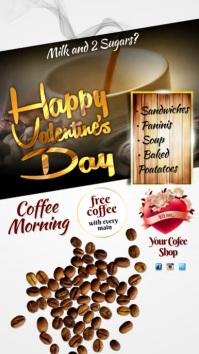 Coffee Morning Instagram Post