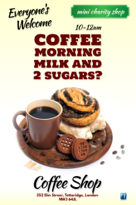 Coffee Morning Poster