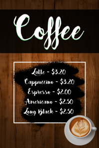 Coffee Restaurant / Cafe Menu Template