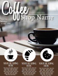 Coffee Shop ad Flyer Template