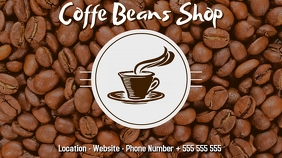 Coffee shop digital display