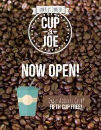 Coffee Shop Flyer