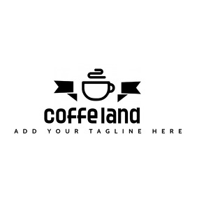 coffee shop icon logo template