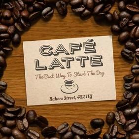 Coffee Shop Instagram Ad