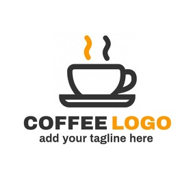 Coffee shop logo coffee icon logo