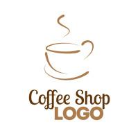 Coffee Shop Logo Логотип template