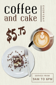 Coffee Shop Poster Template