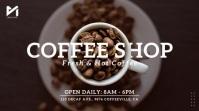 Coffee Shop Video Ad Digital Display (16:9) template
