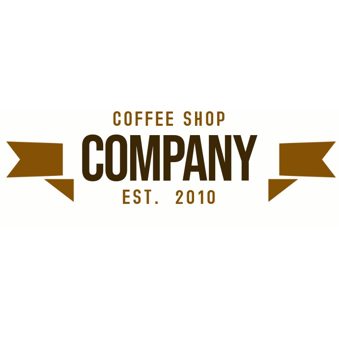 coffee shop vintage logo Ilogo template
