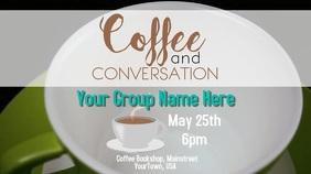Coffee Talk Event Digital Display