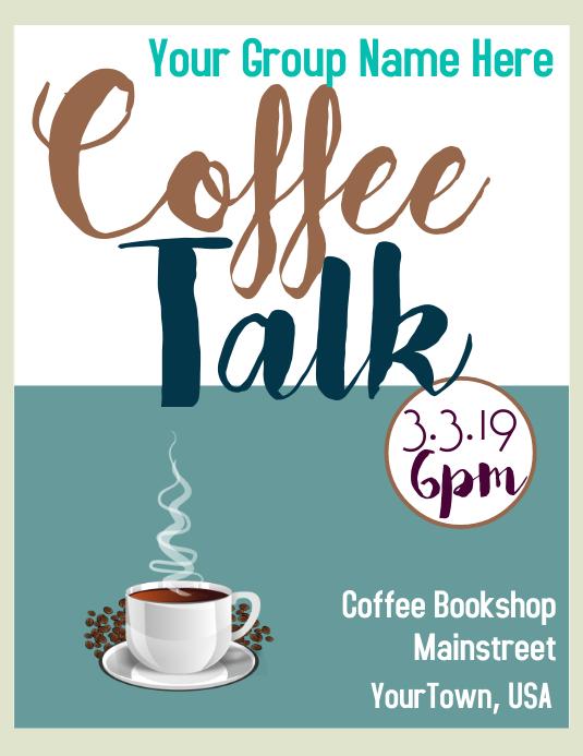 Coffee Talk Flyer