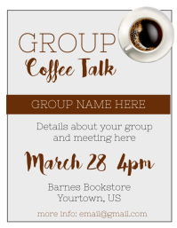 Coffee Talk Group meeting