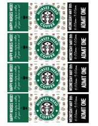 Coffee Tickets