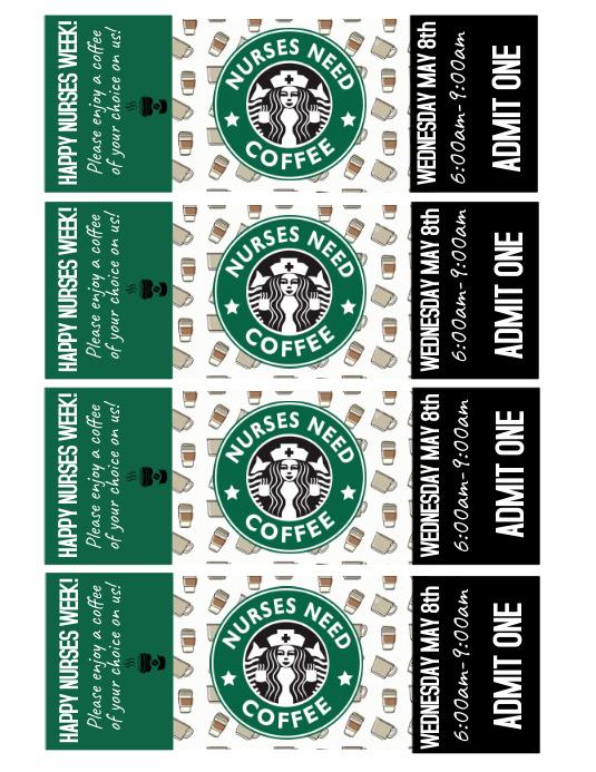 Coffee Tickets