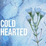 Cold hearted Ice Album Cover Art Template Portada de Álbum