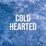 Cold Ice Album Cover Art Template