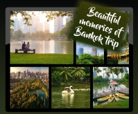 collage, trip collage, travel, Medium Rectangle template