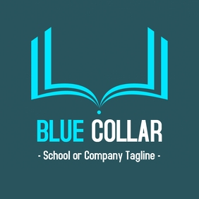 Collar - Private school logo Логотип template
