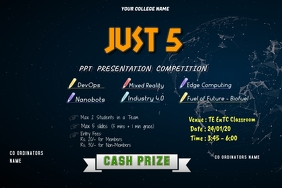 College Event Template (technical event) Plakat