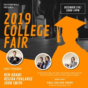 College Fair Event Video Design Template