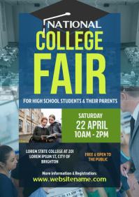 College Fair Flyer A4 template