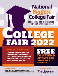 College Fair Flyer Template