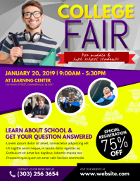 College Fair Flyer