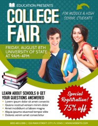 College Fair School Template