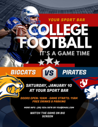1 110 customizable design templates for football postermywall
