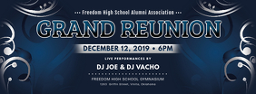 College Grand Reunion Banner Design