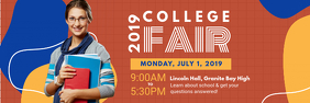College Open House Invitation Banner