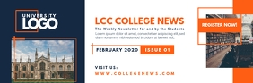 College University News Email Header
