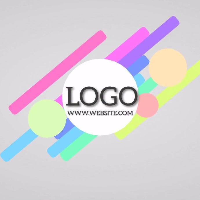 COLOR BUSINESS LOGO DESIGN template โลโก้
