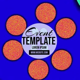 COLOR EVENT FESTIVAL template instagram