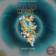 Color Music Mixtape/Album Cover Art