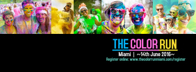 Color Run Facebook cover