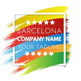 Colorful Abstract Company Logo Template