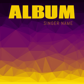 Colorful Album Cover Template