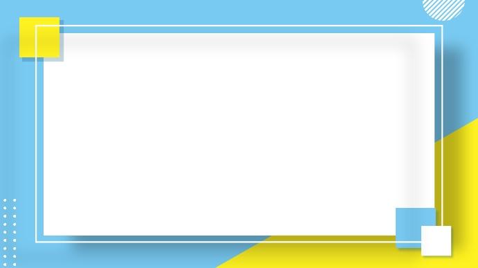 colorful backgrounds Presentazione (16:9) template