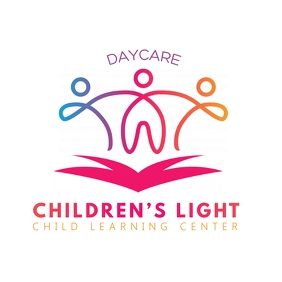 Colorful Filigree Daycare logo template