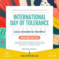 Colorful International Day of Tolerance Insta Instagram-Beitrag template