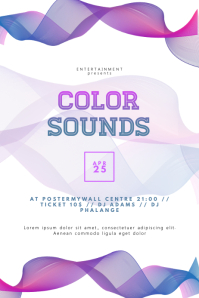 Colorful Party Event Flyer Template