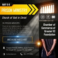 Colorful Prison Ministry Instagram Post Templ Instagram-Beitrag template