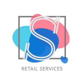 Colorful Retail Services Logo