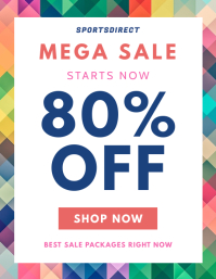 Colorful Sale Flyer