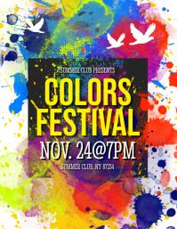 Colors Festival Flyer