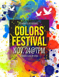 Colors Festival Flyer